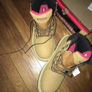 Brand new steel toe 10 1/2 craftsman boots